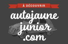 auto jaune junior