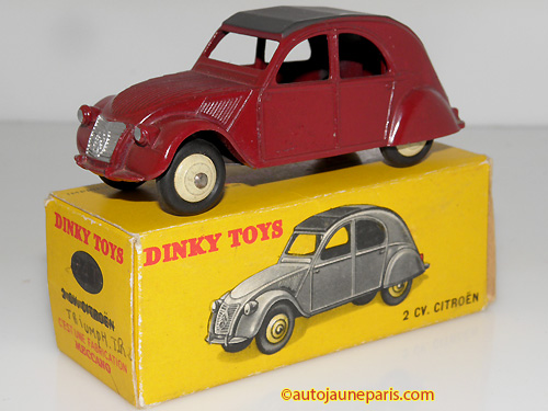 Dinky Toys France 2cv '51 berline