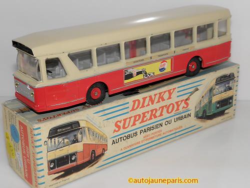 Dinky Toys France PCM bus lyonnais