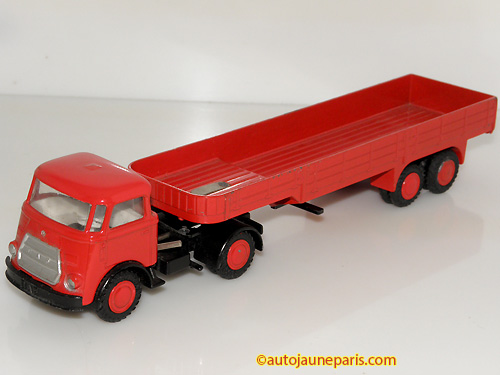Lion Car Frontstuur tracteur semi remorque ridelles