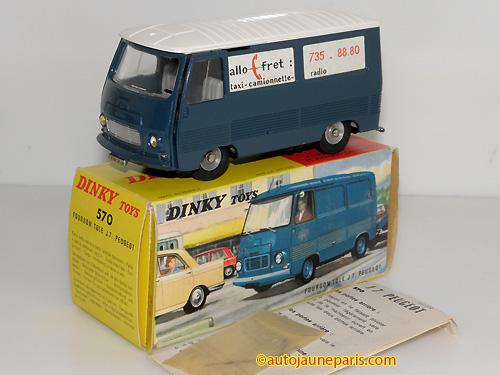 Dinky Toys France J7 fourgon