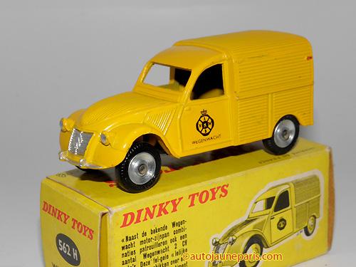 Dinky Toys France 2cv camionnette