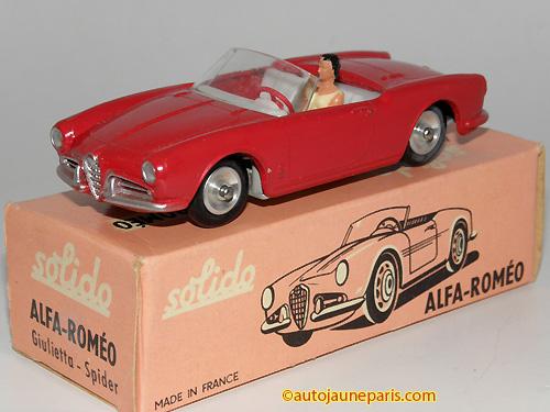 Solido Giulietta cabriolet