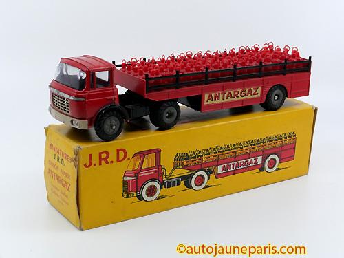 JRD Tak tracteur semi remorque panier