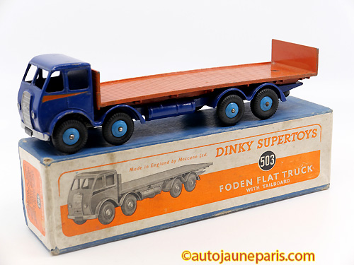 Dinky Toys GB MK1plateau dosseret